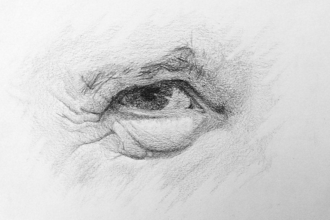 Ojo de anciano